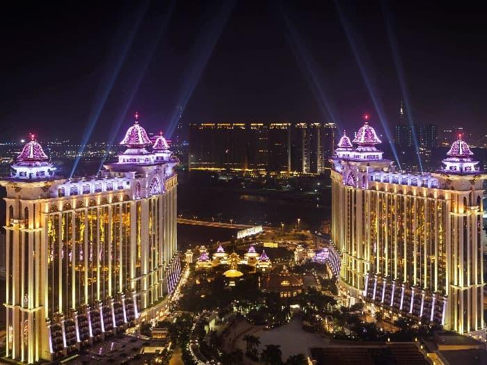 luxurious casino building