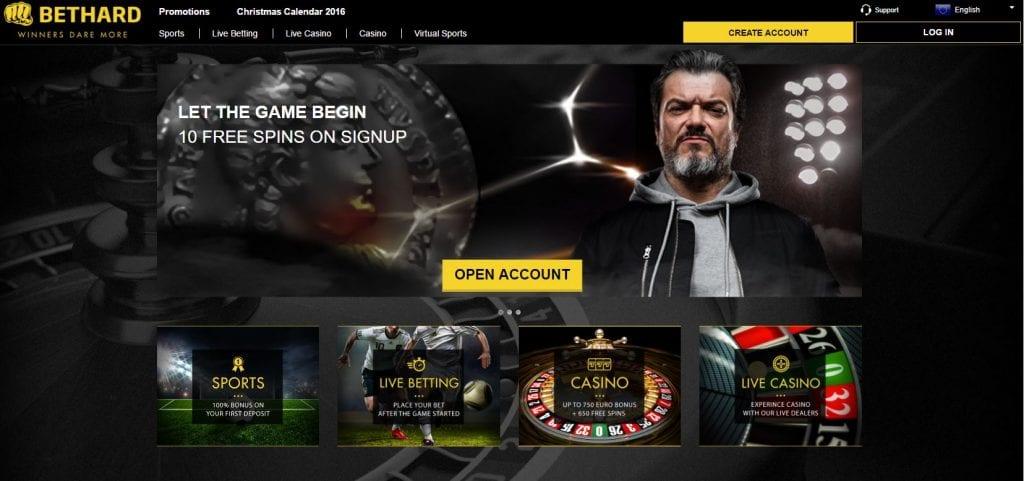 Bethard Live Casino Dealer