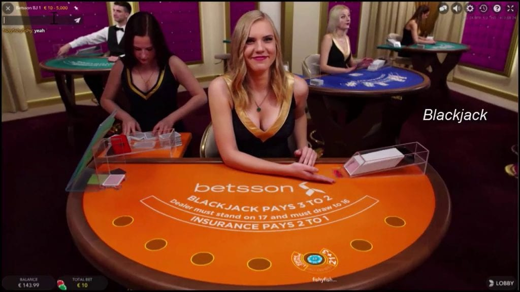 Betsson Live Casino Dealer