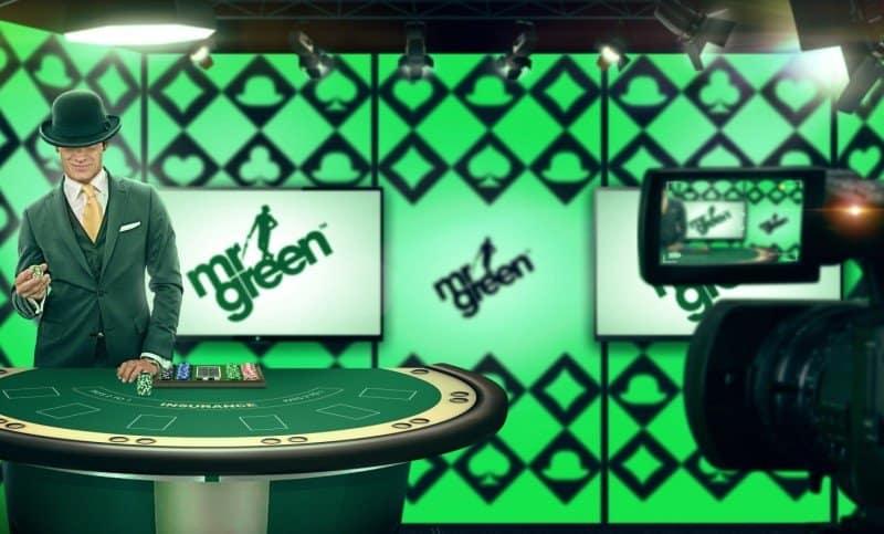 Mr Green Live Casino Dealer