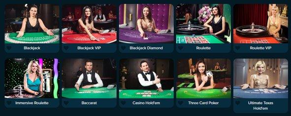 Casinoland live dealer