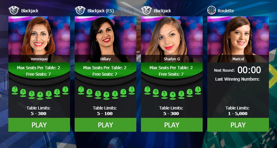 Slot Planet live casino UK
