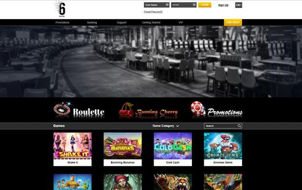 6black live casino