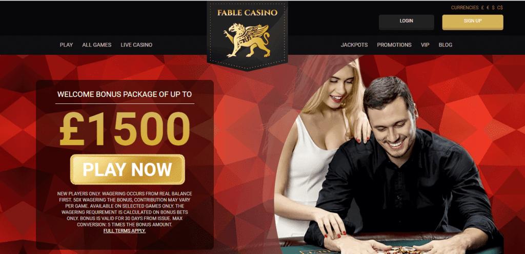 Fable Live Casino
