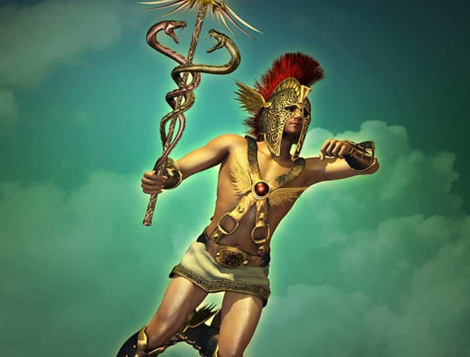 Hermes, the greek god of gambling
