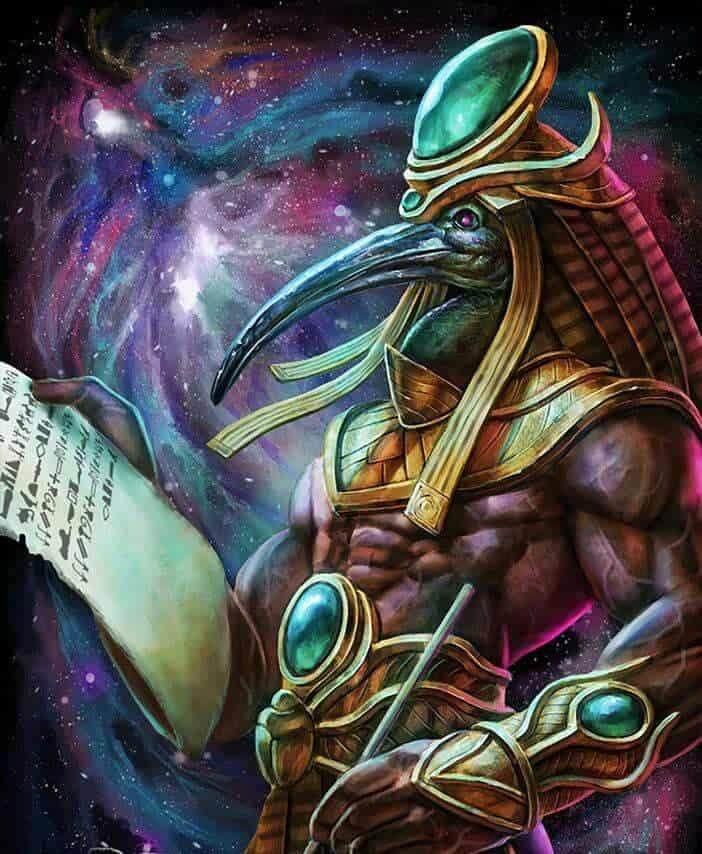 Thoth, the Egyptian god of gambling