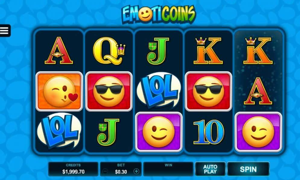 emoticoins slot game